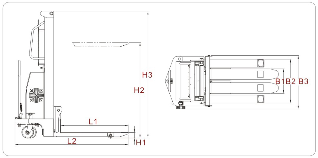 全电动堆高车设计图_半电动堆高机工作原理图_电动堆垛车载荷曲线图